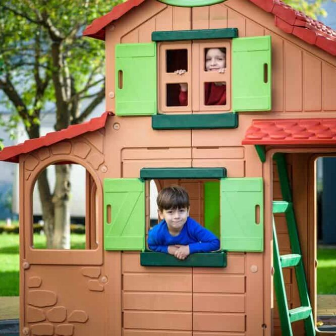 Ideal Exterior Play House That Really Functions